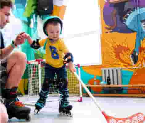 Индивидуальные занятия на роликах с инструктором для детей и взрослых